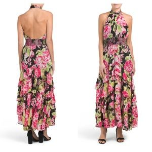 NWT FREE PEOPLE In Full Bloom Floral Maxi Dress